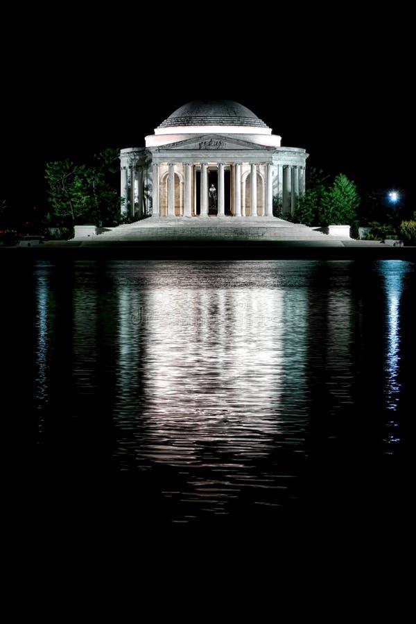 Thomas Jefferson Memorial Washington Tidal Basin stock images