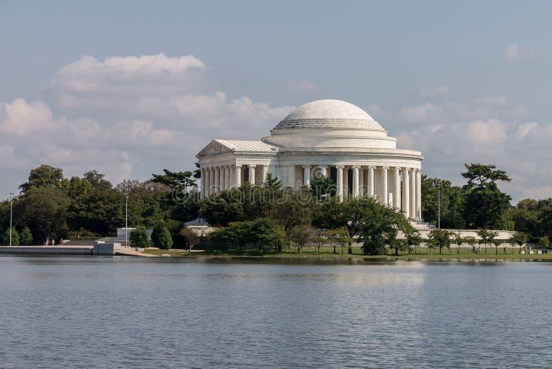 Thomas Jefferson minnesmärkeWashington DC arkivbild