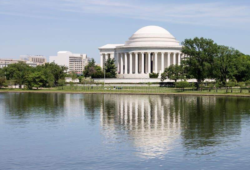 Thomas Jefferson minnesmärkeWashington DC royaltyfri foto