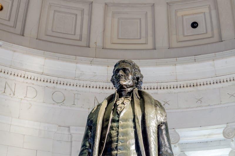 Thomas Jefferson pomnik obrazy royalty free