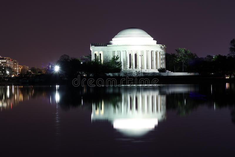 Thomas Jefferson pomnik obraz stock