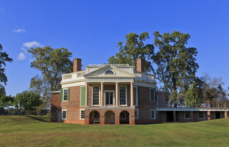 Thomas Jefferson poppelskog royaltyfri foto