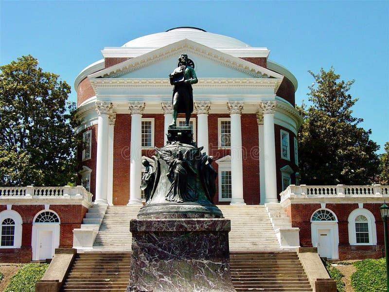 Thomas Jefferson Rotunda stock afbeelding