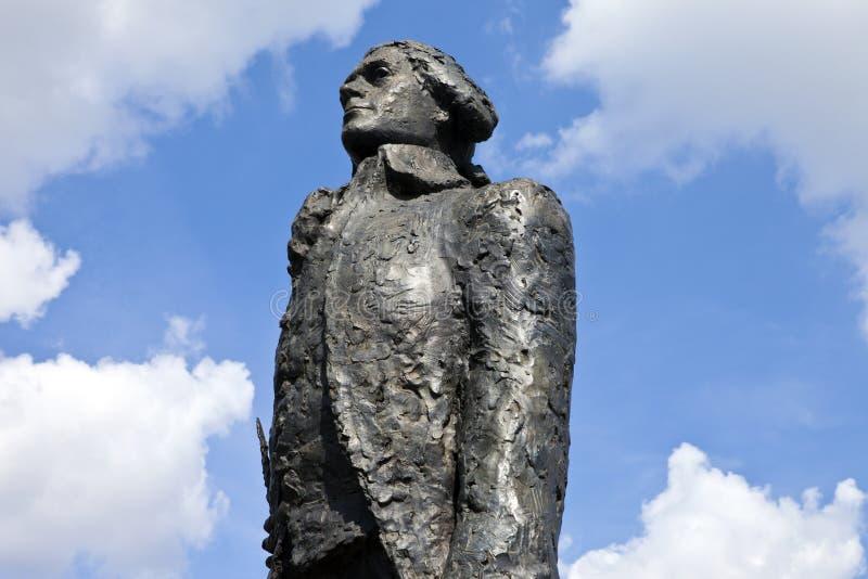 Thomas Jefferson Statue a Parigi immagine stock
