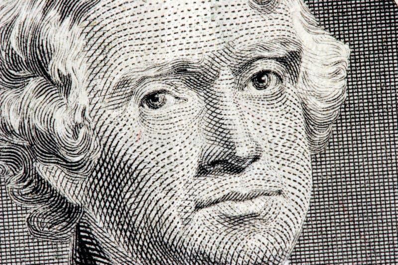 Thomas- Jeffersonabschluß oben stockbilder