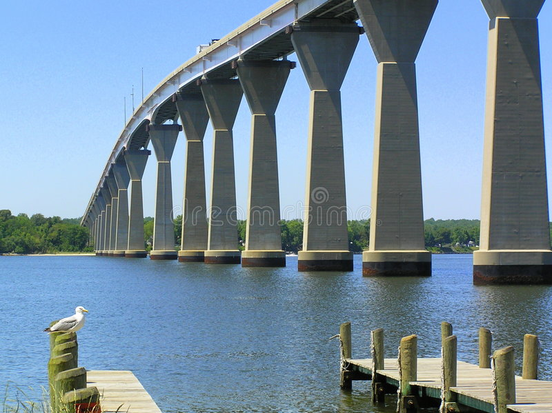 Thomas Johnson Bridge 1 stock photography