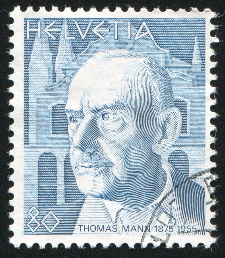 Thomas Mann arkivfoton