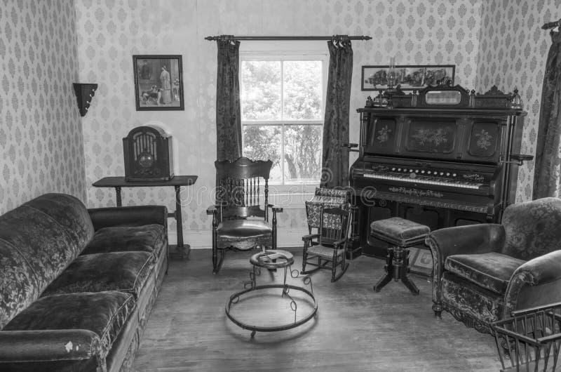 Thomas Organ och pianoföretagsorgan 2 i B&W royaltyfri bild