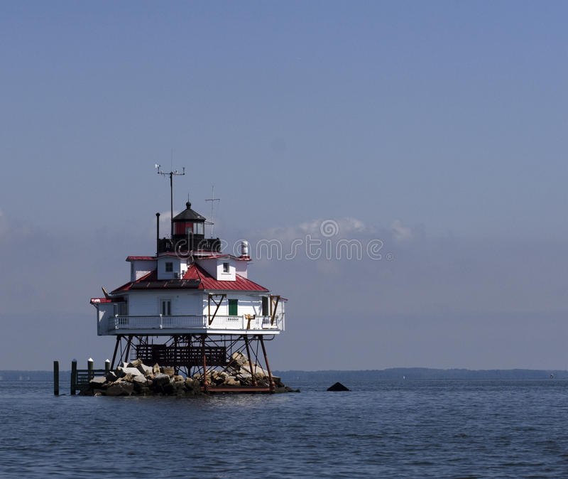 Thomas Point Lighthouse stock photography