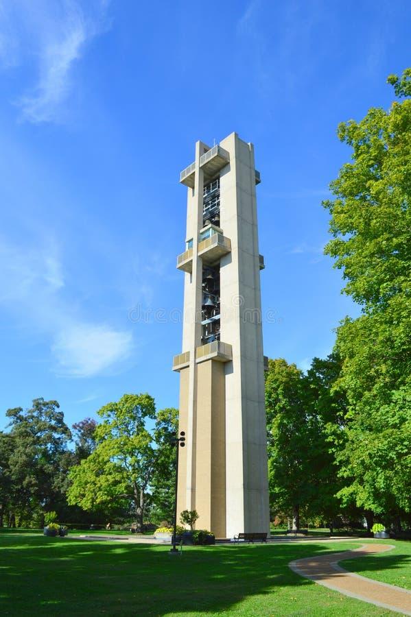 Thomas Rees Memorial Carillon a Springfield fotografia stock