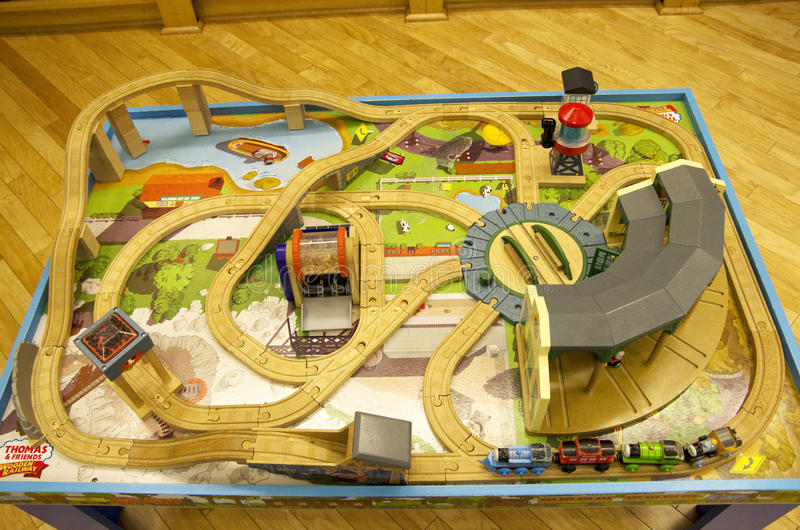 Download Thomas Train Table Track Set Editorial Stock Photo - Image of wood table & Thomas Train Table Track Set Editorial Stock Photo - Image of wood ...