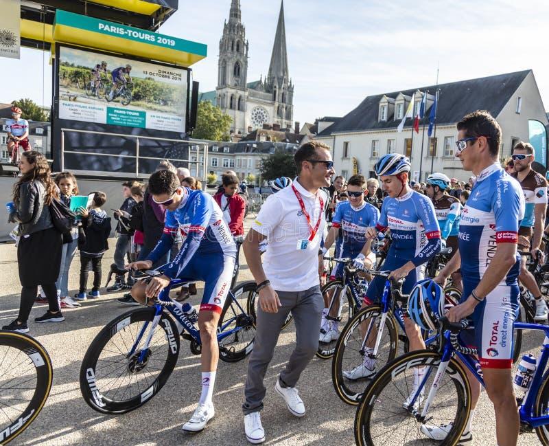 Thomas Voeckler - Paris-Tours 2019 royalty free stock photos