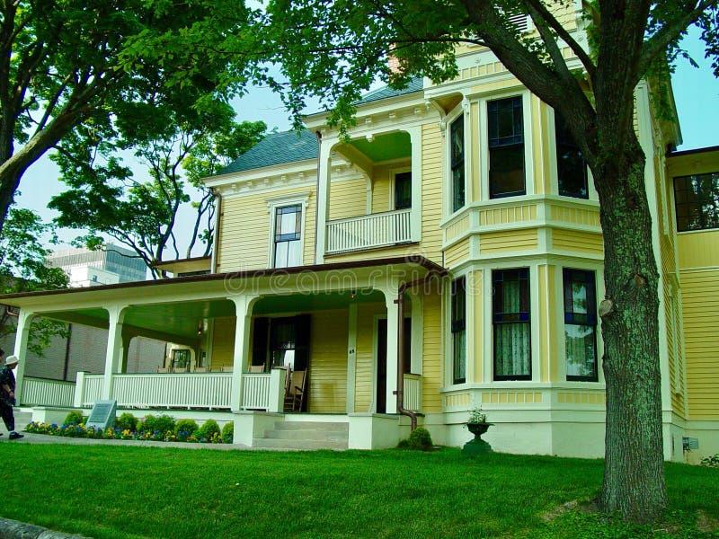 Thomas Wolfe House royaltyfria foton
