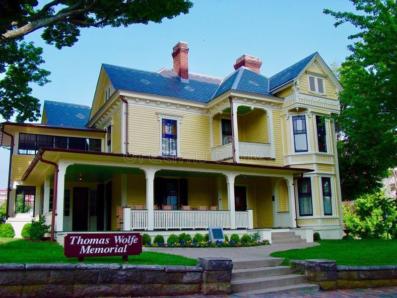Thomas Wolfe House arkivbild