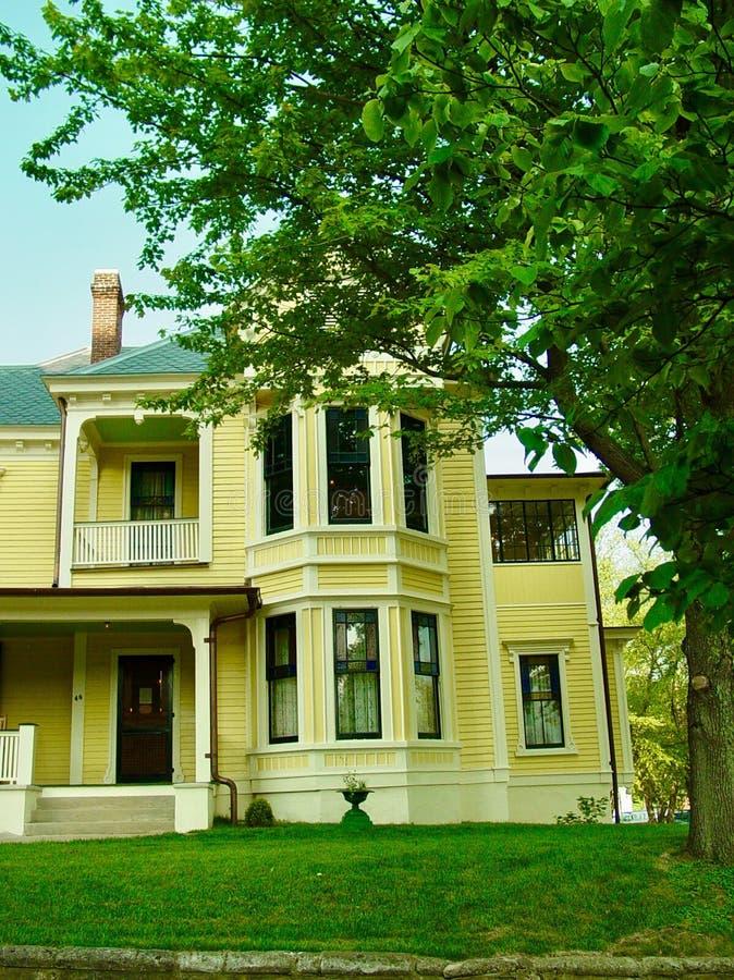Thomas Wolfe House royaltyfri bild