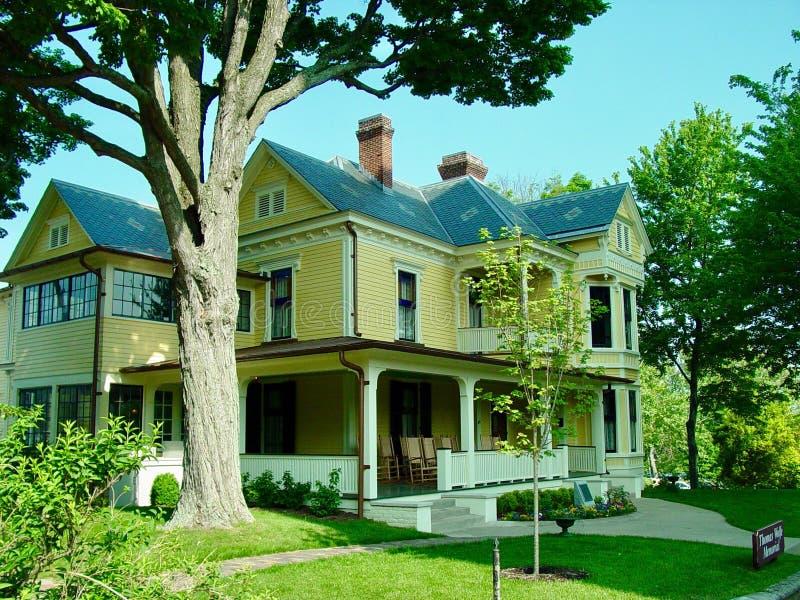 Thomas Wolfe House royaltyfri fotografi