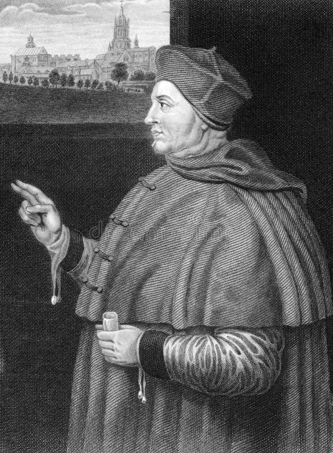 Thomas Wolsey royalty-vrije stock fotografie