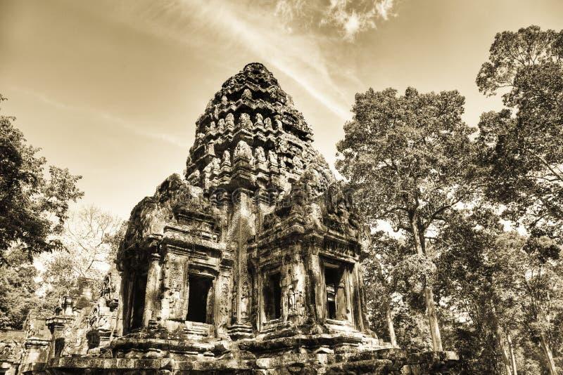 Thommanon temple in  Angkor   Cambodia