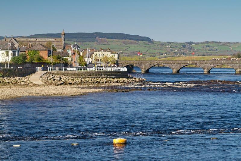 Download Thomond bridge in Limerick stock photo. Image of buildings - 24096532