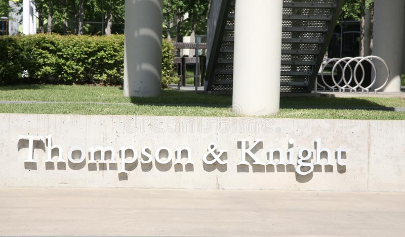 Thompson en Ridder Law Firm, Dallas, Texas stock fotografie