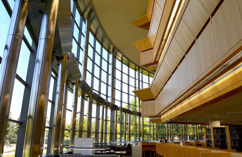 Thompson Library, università del Michigan, silice immagini stock libere da diritti