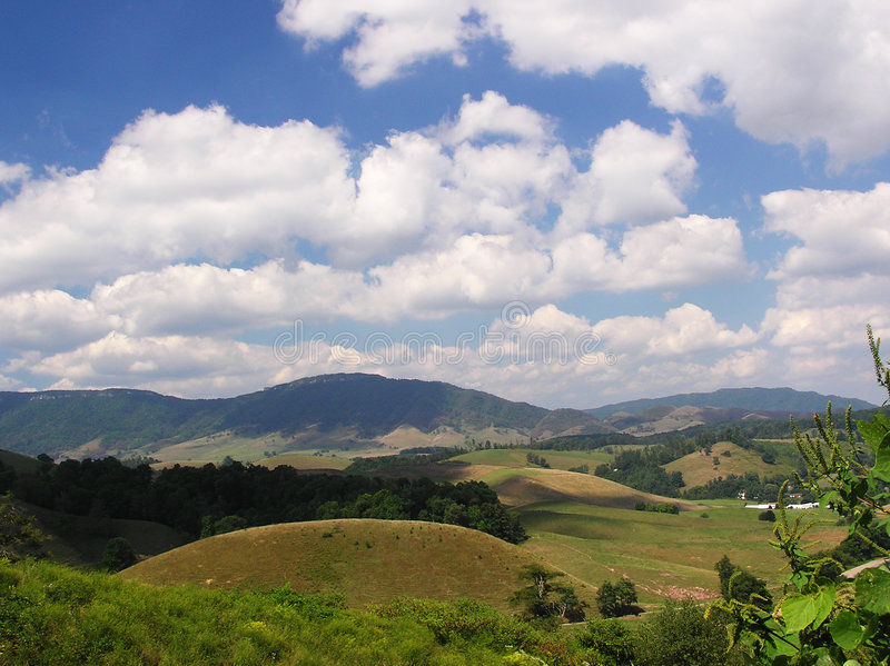 Thompson Valley, Virginia stock photo