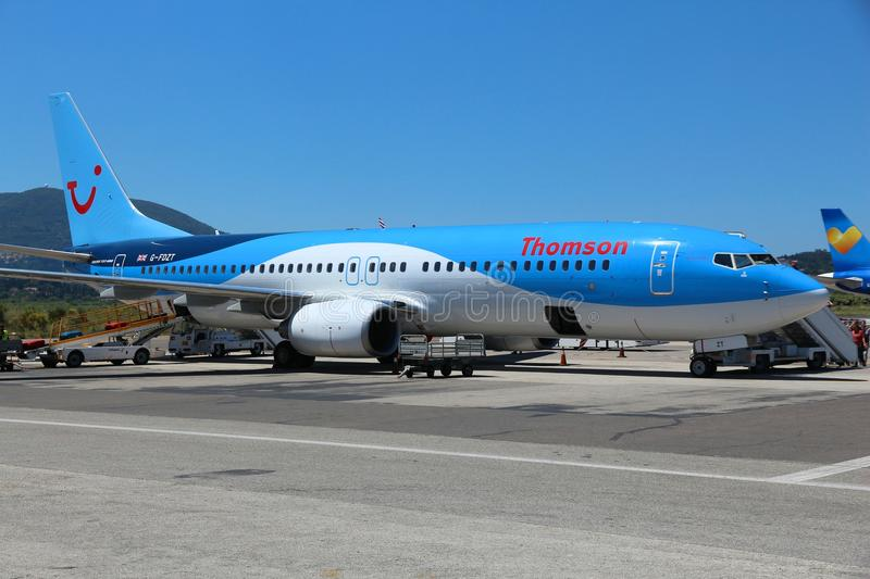Thomson Airways photo stock