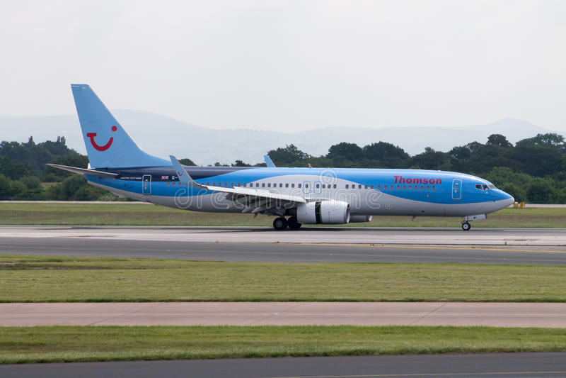 Thomson Airways Boeing 757 fotografie stock libere da diritti