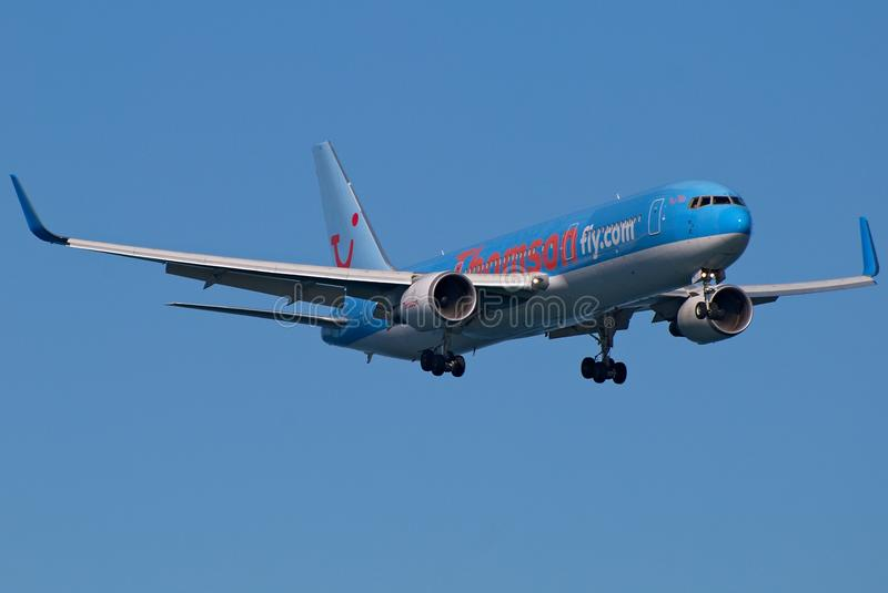 Thomson B767 royalty free stock image
