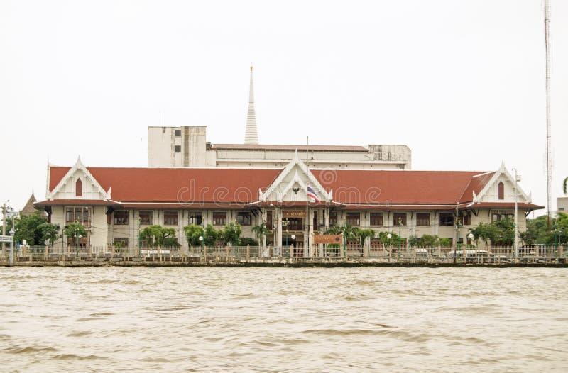 Thon Buri Handlowy Milicyjny biuro, Bangkok zdjęcia stock