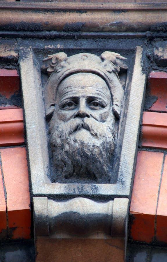 Thor de dios de los nórdises foto de archivo libre de regalías