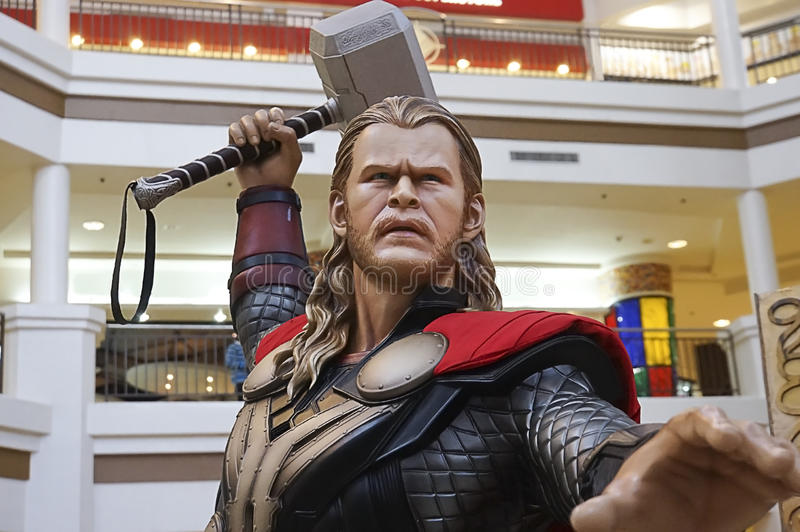 Download Thor editorial stock image. Image of armour, cinema, angry - 38876044