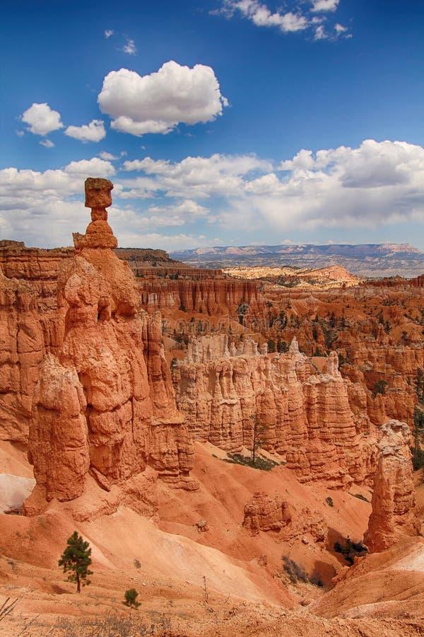 Thor's hammer. At Bryce Canyon, Utah, USA stock photography