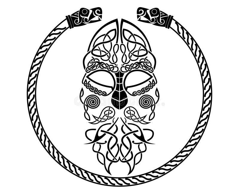Thore vektorillustration royaltyfri bild