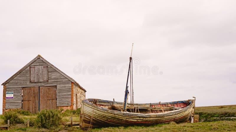 Thornham hamn fotografering för bildbyråer