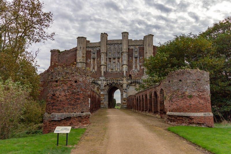 Thornton Abbey Gatehouse fotografia stock libera da diritti