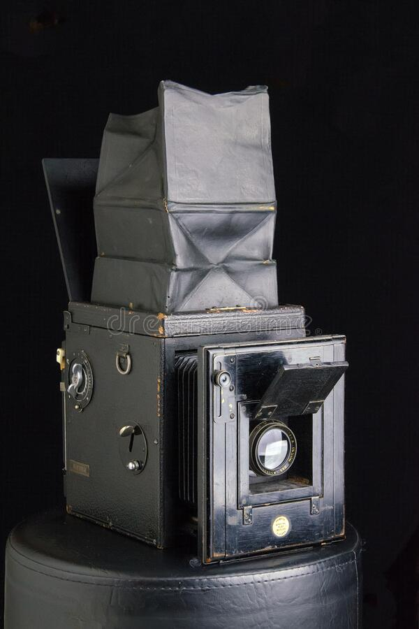 Thornton-Pickard Special Ruby Reflex camera stock images