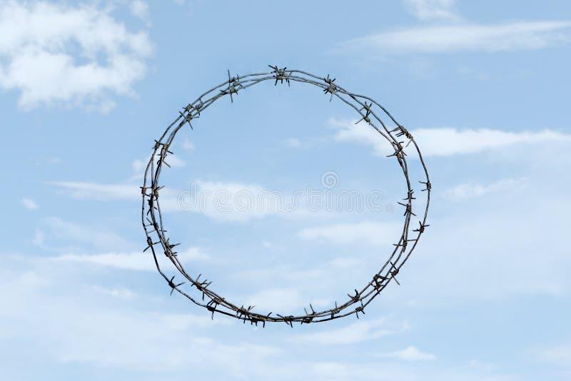 Thorny wreath stock image