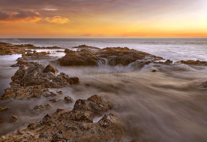 Thors väl på den Oregon kusten royaltyfri fotografi