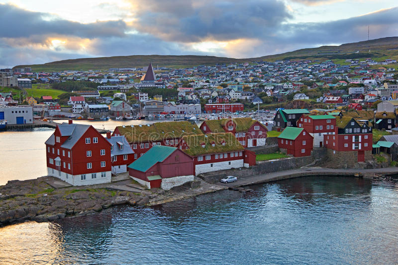 Thorshavn photographie stock