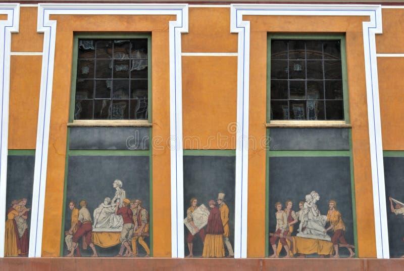 thorvaldsens музея copenhagen стоковое изображение rf