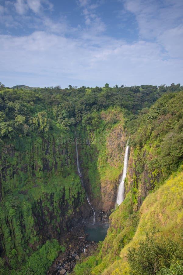 Thoteghat Waterfall, Satara, Maharashtra, India. Thoteghat Waterfall in Satara District in Maharashtra, India stock photo