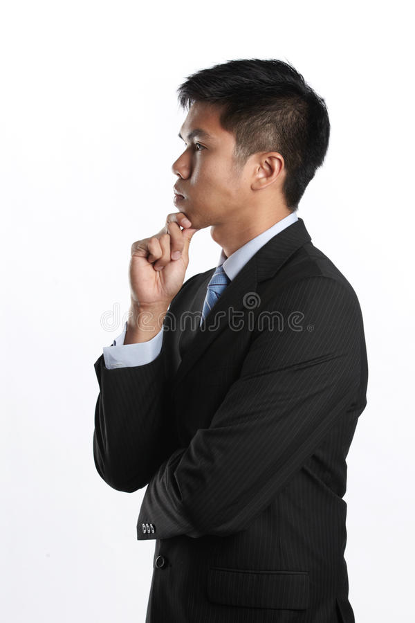 Download Thoughful business man stock photo. Image of handsome - 20012162