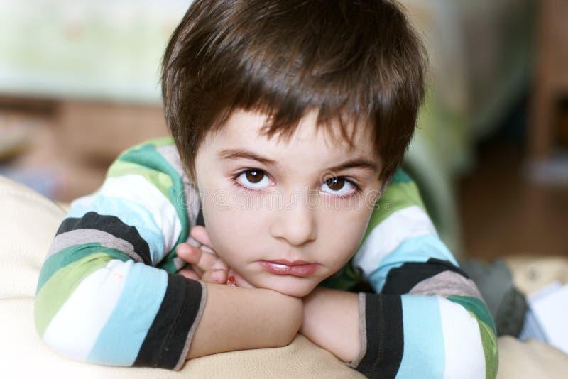 Thoughtful Boy Stock Photos