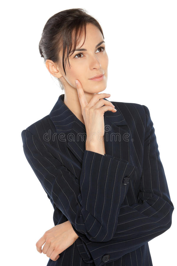 Download Thoughtful Business Woman Stock Photography - Image: 20871132