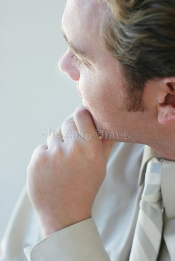 Download Thoughtful Businessman Royalty Free Stock Images - Image: 3415559