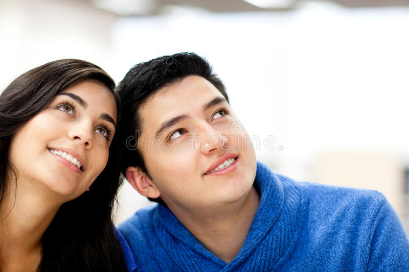 Download Thoughtful couple stock image. Image of male, adults - 25367393