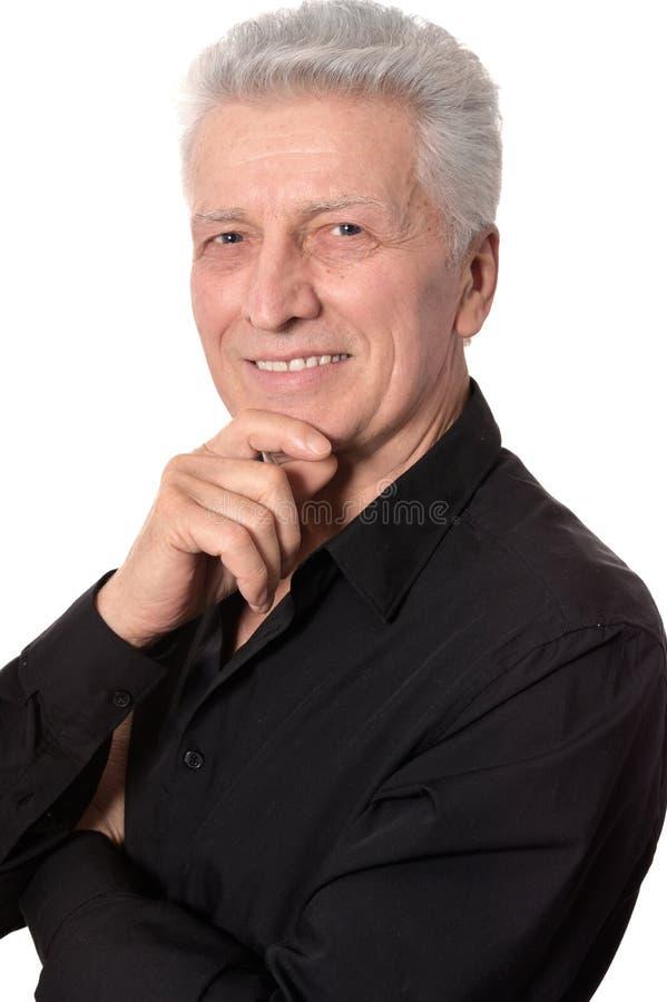 Free Thoughtful Elder Man Stock Image - 36860671