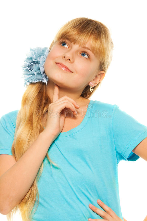 Download Thoughtful Girl Stock Photography - Image: 28873522