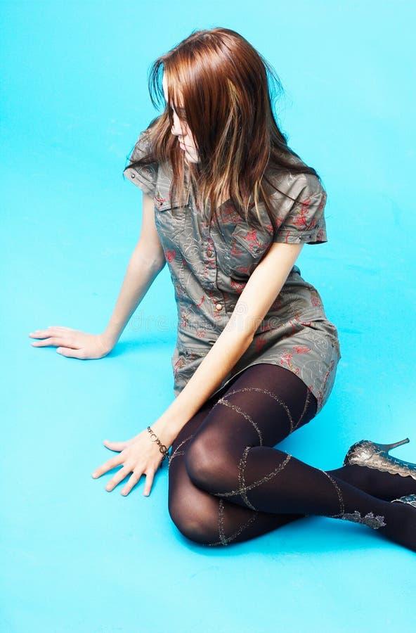 Thoughtful Teen Girl 2 stock photo